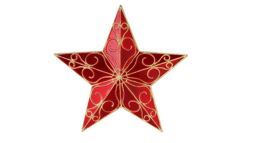 vanoční hvězda
